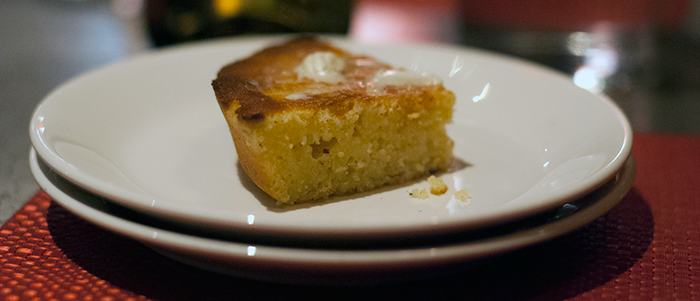 Cornbread at Hodge's